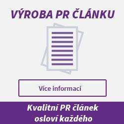 PR článek, výroba PR článku, zhotovení PR článku - Povolte si v prohlížeči obrázky, jinak neuvidíte obsah správně