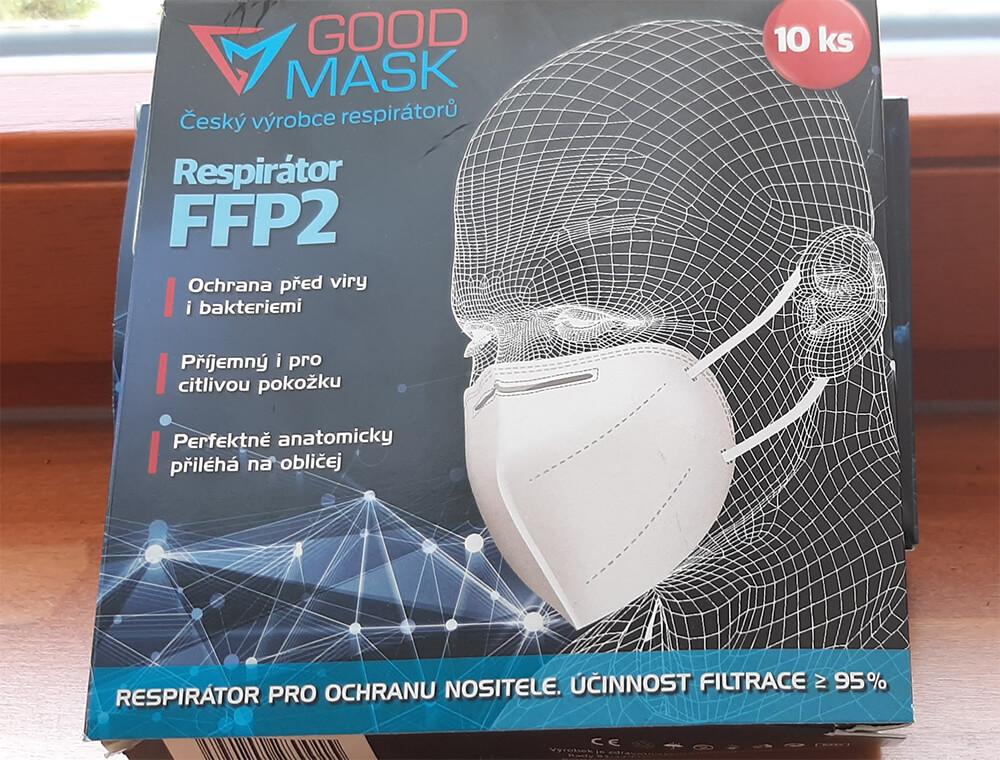 Respirátor FFP2