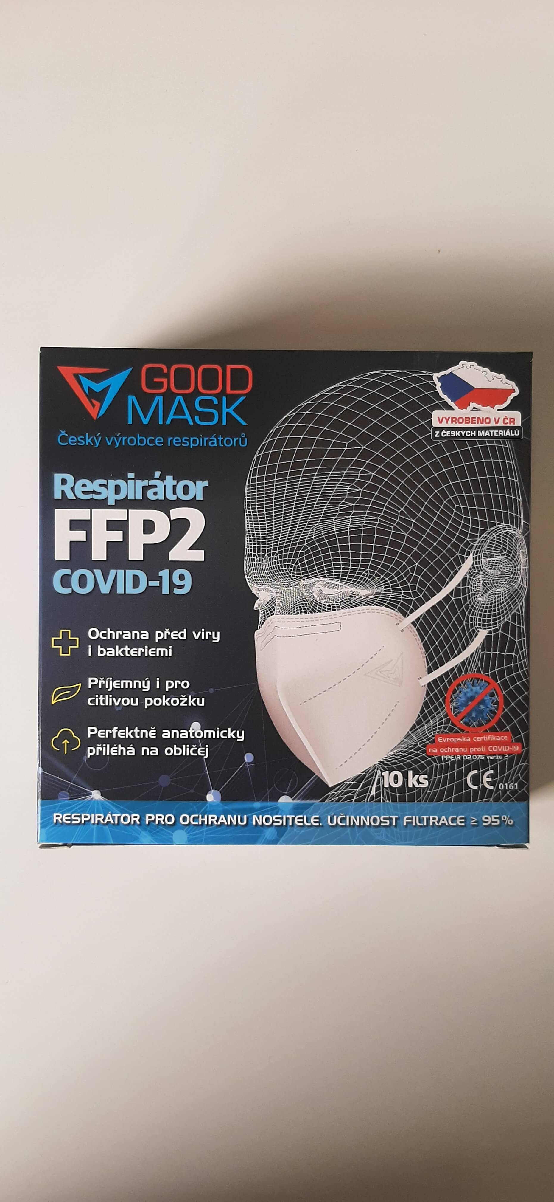 Respirátor GOOD MASK FFP2